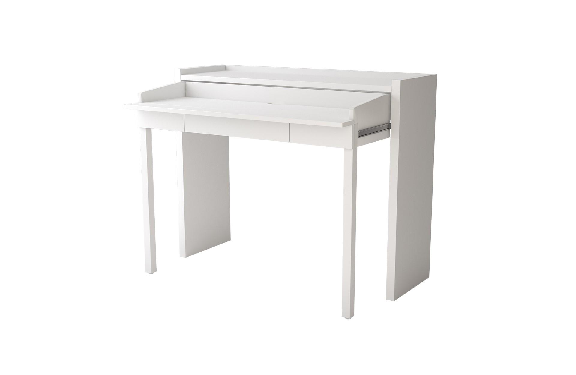 109017708082 Console Desk 16 White 01