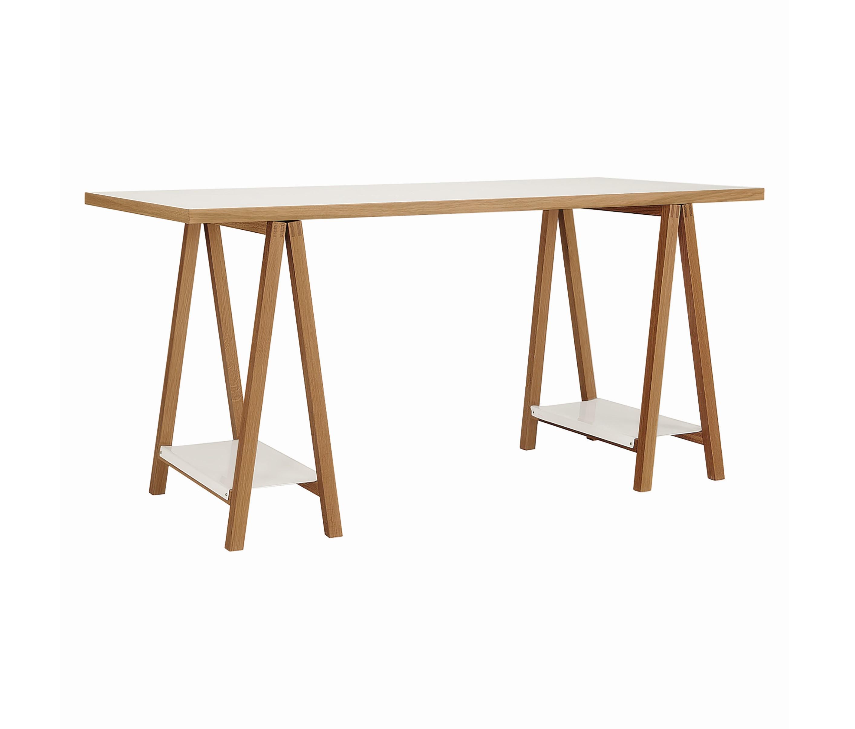 164201008012 Highbury Trestle Desk White 01