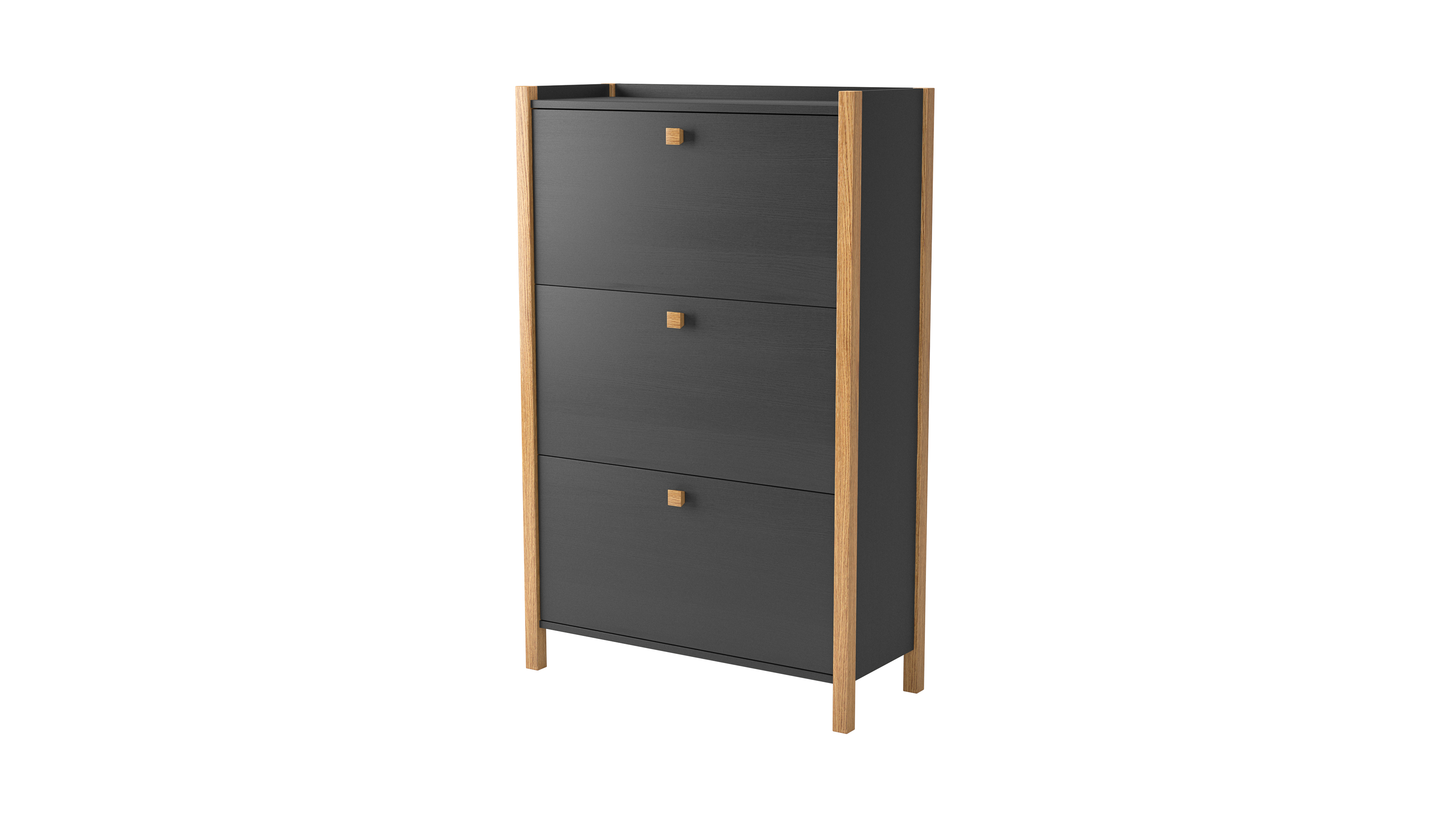 170357204072 Hannover Shoe Cabinet 3 door 01
