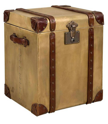 Artwood DURBAN Trunk Old Brass