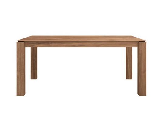 Ethnicraft Slice jatkettava ruokapöytä 180-280 cm tiikki